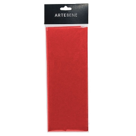 Seidenpapier Rot