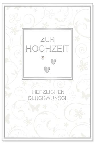 Hochzeitskarte Ranke
