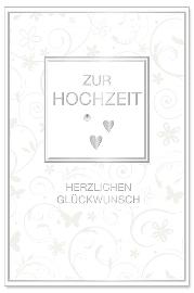 Hochzeitskarte Ranke Zur Hochzeit