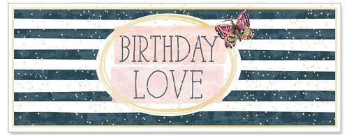 Karte Birthday Love