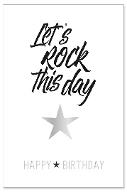 Karte Rock this day