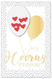 Hochzeitskarte Ballon