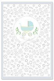Karte Baby Kinderwagen