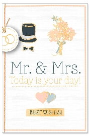 Hochzeitskarte Spruch Today is your day