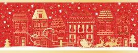 Weihnachtskarte Stadt
