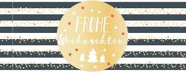 Weihnachtskarte Schwarz Weiß