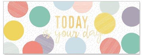 Geburtstagskarte DIN lang Today