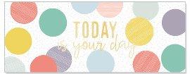 Geburtstagskarte Today