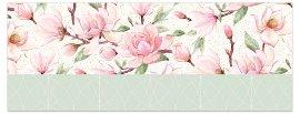 Grußkarte DIN lang Magnolien