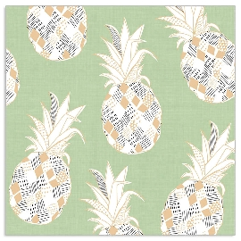 Serviette Ananas Mint