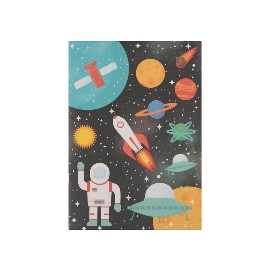 Notizheft A5 Astronauten Raketen