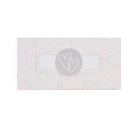 Geschenkbox Hochzeit Herzen Weiß