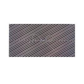 Geschenkbox Streifen Schwarz
