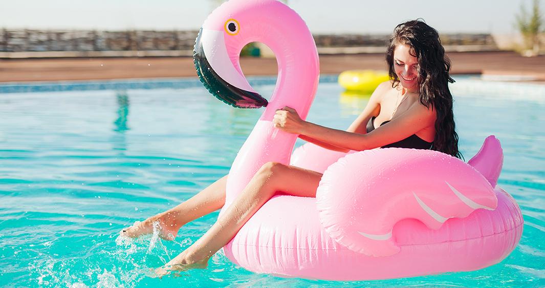 1Banner Flamingo