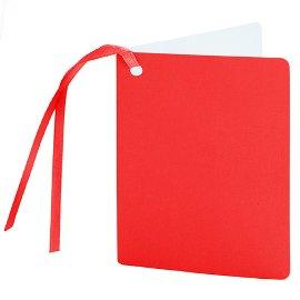 Geschenkanhänger Rot