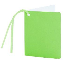 Geschenkanhänger Hellgrün Limette