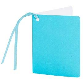 Geschenkanhänger Blau