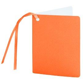 Geschenkanhänger Orange