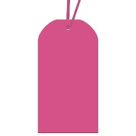 Geschenkanhängerset Pink