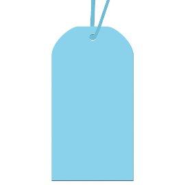 Geschenkanhängerset Blau
