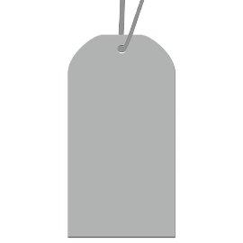 Geschenkanhängerset Silber