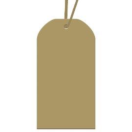 Geschenkanhängerset Gold