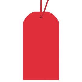 Geschenkanhängerset Rot
