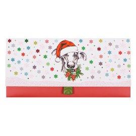 Geschenkumschlag Hund