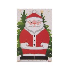 Geschenkumschlag Santa B6