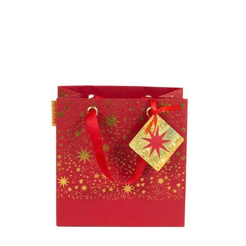 Geschenktasche Rot Klein