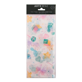 Seidenpapier Baby Pastell
