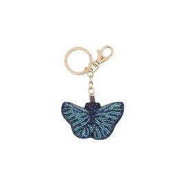 Schlüsselanhänger Perlen Schmetterling