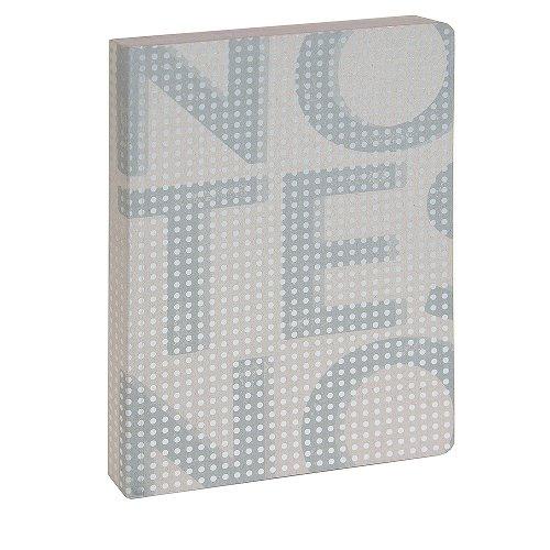 Notizbuch Notes Grau