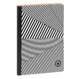 Notizbuch Black White DIN A5