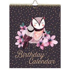 Geburtstagskalender Eule