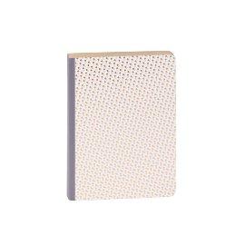 Notizbuch Würfel Nude Gold DIN A6