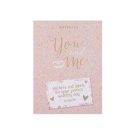 Stickerblock Hochzeit You and Me