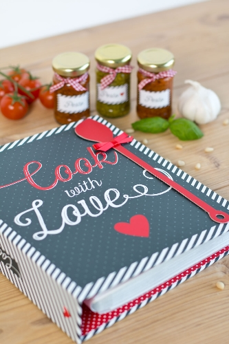 Rezeptordner Cook with Love DIN A5