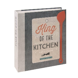 Rezeptordner King of the Kitchen