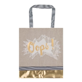Shopper Lieblingstasche Statement Oops Gold