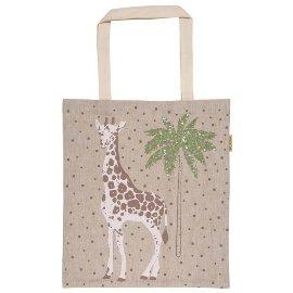 Shopper Lieblingstasche Pailletten Giraffe