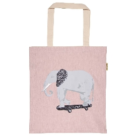 Shopper Lieblingstasche Pailletten Elefant