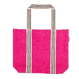 Shopper Bag Organics Jute Pink