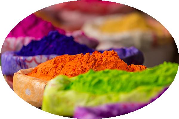 JGA Holi Festival Colours Puder Farbenfroh