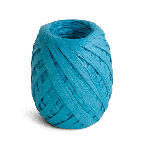 ribbon/crepe paper/45m/turquoise