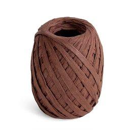ribbon/crepe paper/45m/brown