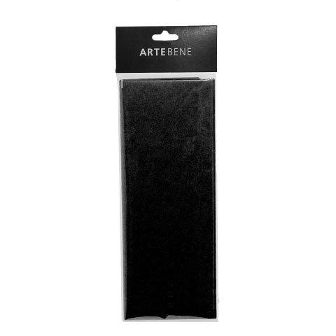 tissue paper/50x76cm/4 pcs./black
