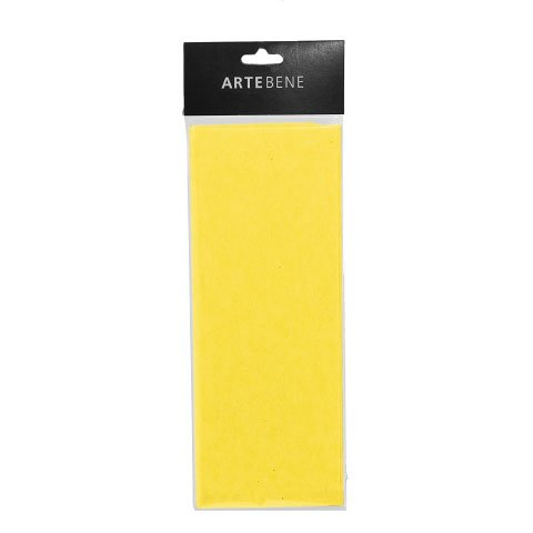 tissue paper/50x76cm/4 pcs./yellow