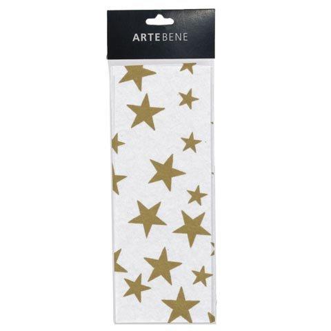 Seidenpapier Sterne Gold