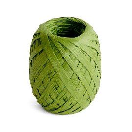ribbon/crepe paper/45m/oliv
